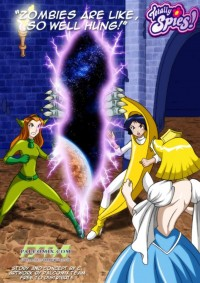 Free porn pics of Totally Spies Comic - Zombies are like, So Well Hung 1 of 18 pics